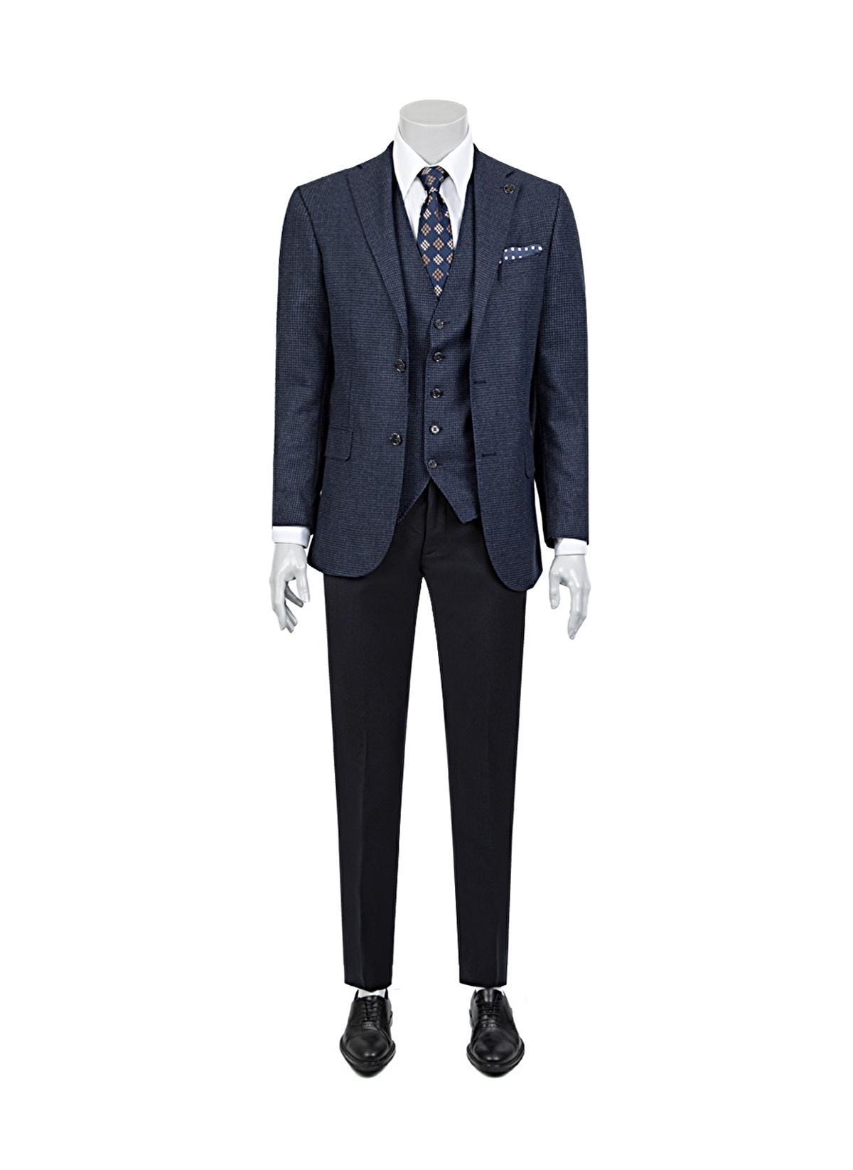 Damat Takım Elbise 1dfy5s612562101 Yelekli Takım Elbise – 1999.99 TL